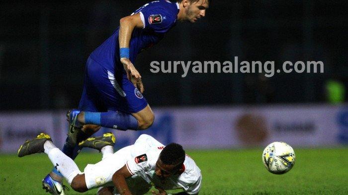 Hasil Skor Akhir Arema FC VS Barito Putera Adalah 3-2, Menang Lewat Come Back Mendebarkan