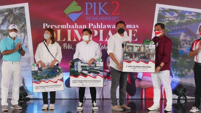 Greysia Polii dan Apriyani Rahayu Serta Pelatihnya Dapat Hadiah Rumah 2 Lantai di PIK 2