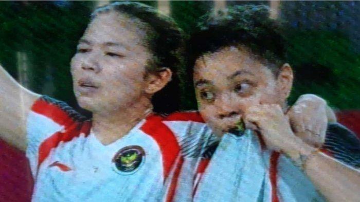 Tangis Medali Emas Greysia Polii - Apriyani Rahayu Pecah di Olimpiade Tokyo 2020, Untuk Indonesia