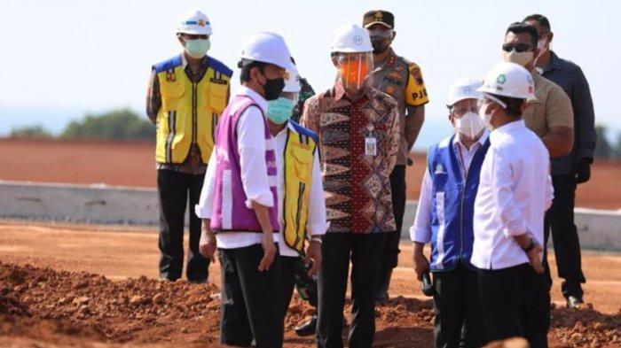 Ganjar Pranowo Dampingi Jokowi Lihat Kawasan Industri Batang, Jadi Contoh Pembangunan Indonesia