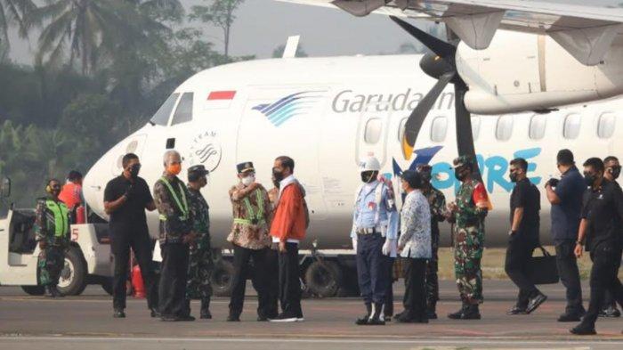Presiden Jokowi ke Purbalingga: Terima Kasih Pak Gubernur Jateng Ganjar Pranowo dan Ibu Bupati