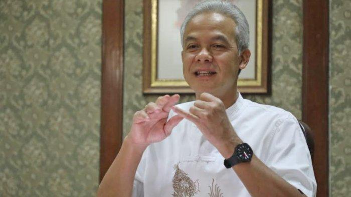 Gubernur Jateng Ganjar Pranowo Puji Wali Kota Solo Gibran Rakabuming Copot Oknum Lurah yang Pungli