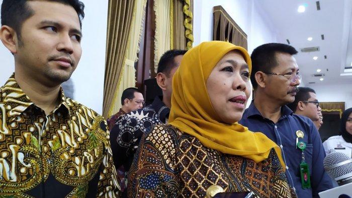 Gubernur Khofifah Larang Mobil Dinas Pemprov Jatim Digunakan Untuk Mudik Lebaran