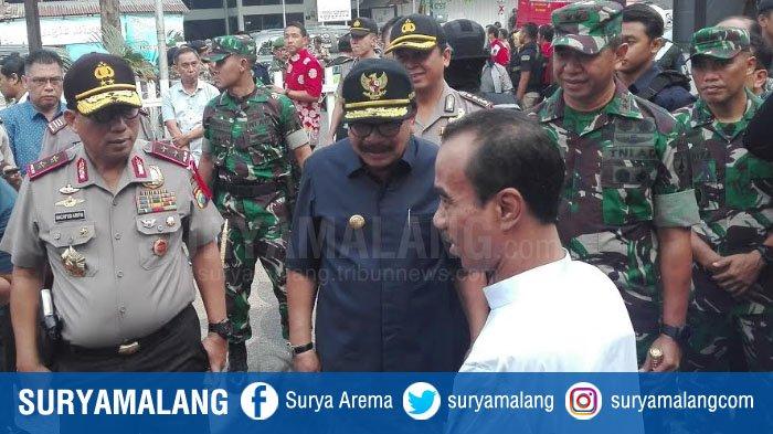7 Hari Ledakan Bom Surabaya, Ini yang Dilakukan Pangdam V, Gubernur dan Kapolda Jatim di Gereja