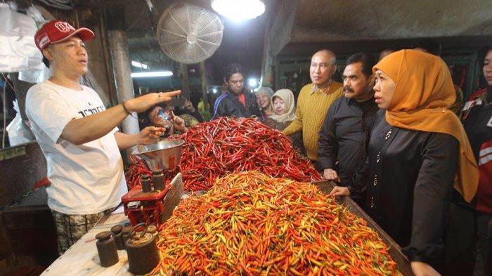Gubernur Khofifah Segera Bentuk BUMD Pangan, Respon Selamatkan Petani Tidak Merugi Di Jatim