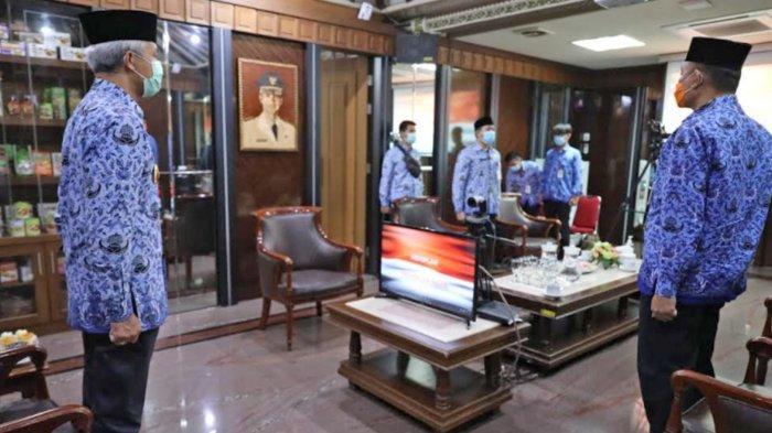 Gubernur Jateng Ganjar Pranowo: DPRD Salatiga yang Kunker di Malang Ikut Menyanyikan Indonesia Raya