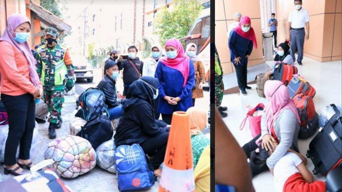 UPDATE TKI Pulang ke Jatim, 57 Orang Positif Covid-19, Sudah Lebih Dari 4 Ribu Pekerja Migran Datang