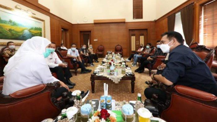Gubernur Khofifah Terima Audiensi AMSI Jatim Jelang Pelantikan Pengurus Baru