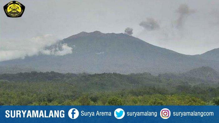 Status Gunung Raung Kembali Naik Menjadi Waspada, Dilarang Aktivitas Dalam Radius 2 Km Dari Kawah