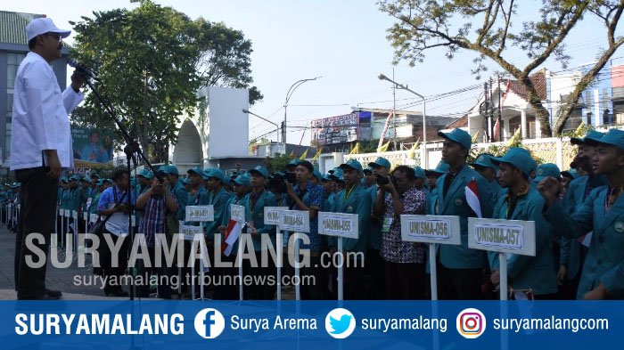 Gus Ipul Beri Semangat Mahasiswa Baru Universitas Islam Malang