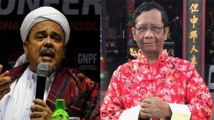 Mahfud MD Menantang Habib Rizieq untuk Membuktikan Keaslian 'Surat Pencekalan' Agar Tidak Ada Fitnah