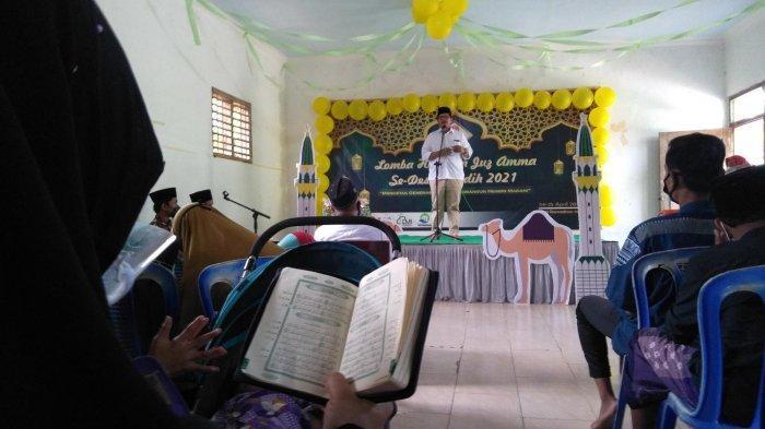 Mencetak Generasi Qurani, Forum Cendikiawan Desa Jaddih Bangkalan Gelar Lomba Hafalan Juz Amma