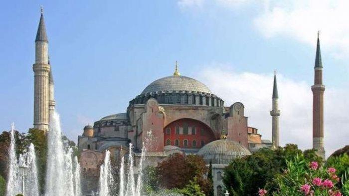 Yuk Mengenal Hagia Sophia di Turki, Bangunan Katedral Kristen Ortodoks yang Kini Diubah Jadi Masjid