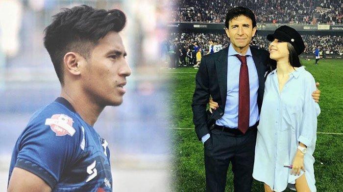 Hanif Sjahbandi Gelandang Arema FC Terpilih Jadi Pemain Timnas Paling Ganteng Versi Putri Luis Milla