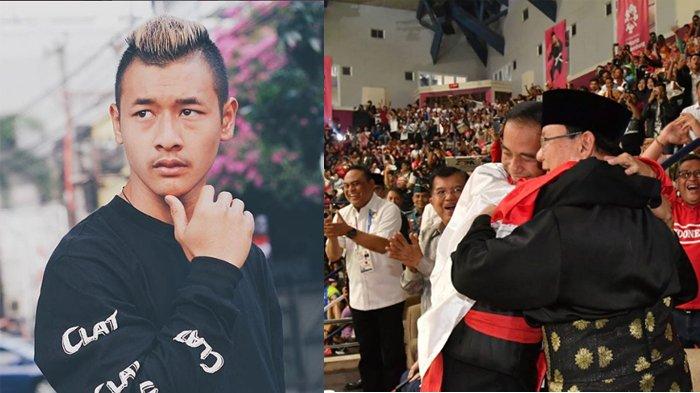 Bisikan Hanifan saat Peluk Jokowi & Prabowo Usai Raih Emas Asian Games 2018, Singkat Namun Bermakna