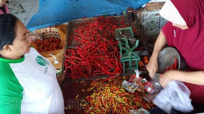 Harga Cabai di Madiun Rp 86 Ribu/Kg, Pengusaha Kuliner Pilih Cabai Kering dari India Rp 60.000/Kg