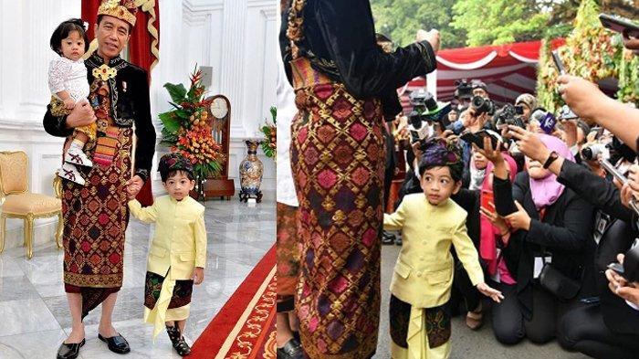 Harga Sepatu Jan Ethes Bareng Jokowi saat Upacara, Pantas Viral & Disorot, Nilainya Bikin Gigit Jari