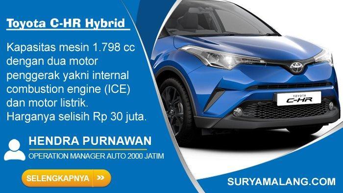 Toyota C-HR Hybrid Dilaunching di Jatim, Lebih Irit Bahan Bakar dan Harganya Selisih Rp 30 Juta