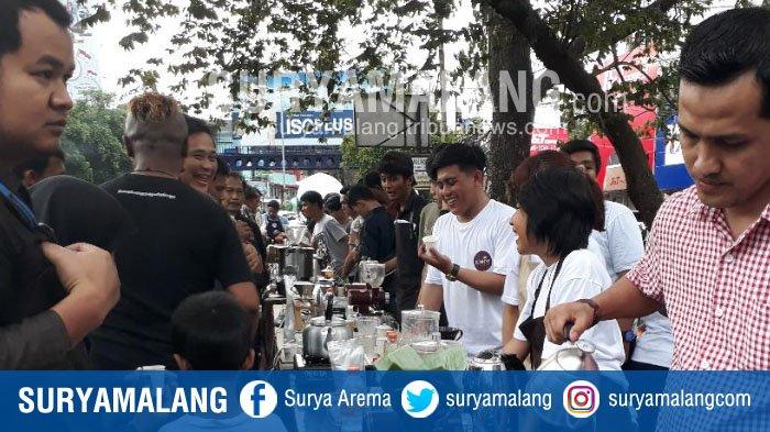 Beginilah Kemeriahan Peringatan Hari Kopi Internasional di Kota Malang
