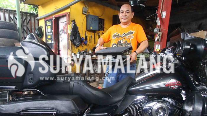 Kota Malang Adalah Surganya Bagi Penggemar Harley Davidson! Ini Buktinya Ker