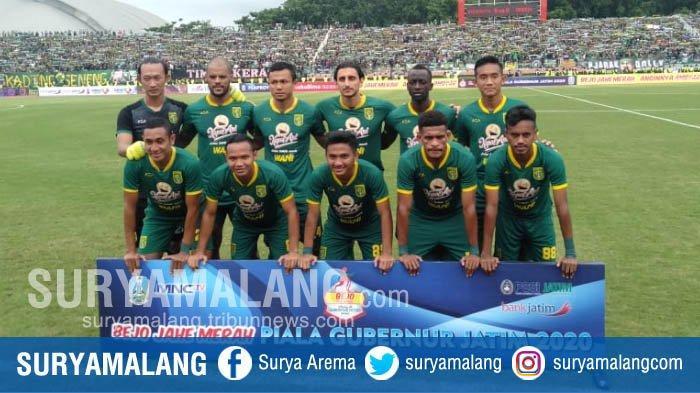 Hasil Akhir Pertandingan Persebaya vs Persija, Skor 4-1 Bajul Ijo Juara Piala Gubernur Jatim 2020