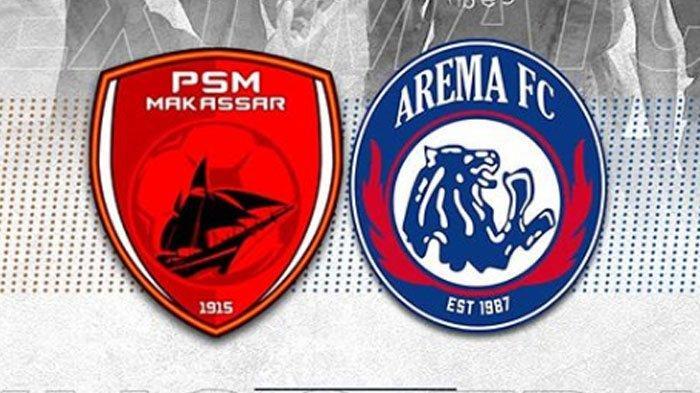 Hasil Skor Akhir PSM VS Arema FC di Babak 1 Adalah 3-1, Daftar Pencetak Gol