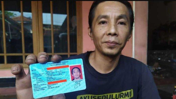 Heboh di Media Sosial Seorang Warga Magelang Jawa Tengah Bernama Corona, Lahir 43 Tahun yang Lalu