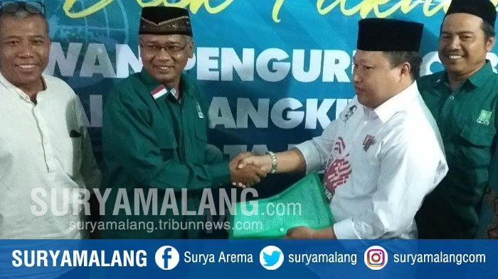 Mantan Ketua DPC Partai Demokrat Daftar Bacawali Kota Blitar di DPC PKB