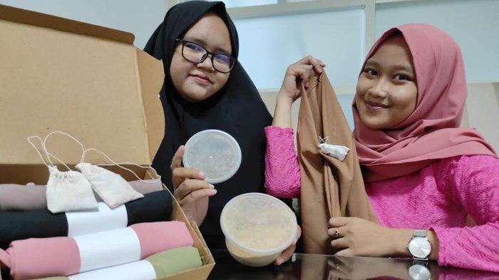 Mahasiswa Unusa Ciptakan Hijab Aromatik
