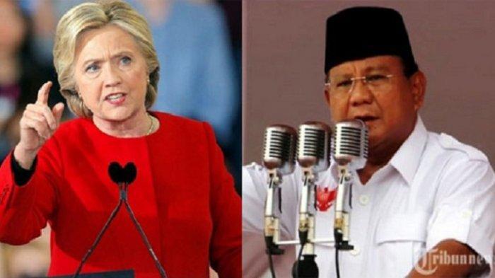 Perbedaan Sikap Prabowo dan Hillary Clinton saat Merespon Hasil Quick Count, Mau Mengakui Kekalahan