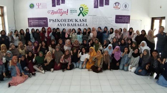 Himpunan Psikologi Indonesia (HIMPSI) Malang Bekali 350 Relawan Gerakan Psikoedukasi