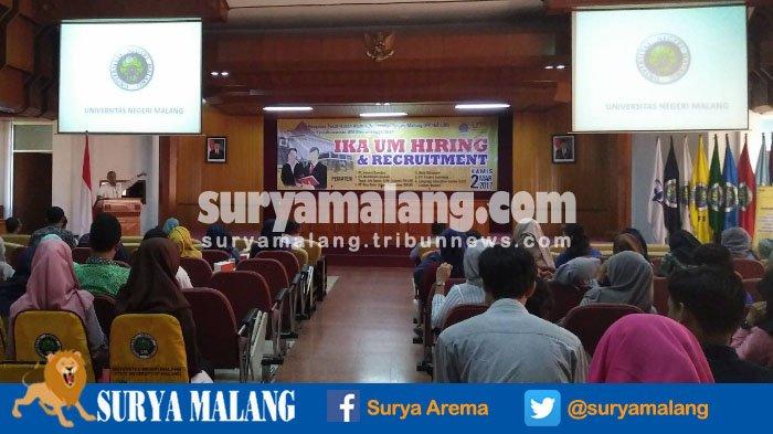 Masa Tunggu Lulusan Universitas Negeri Malang Terserap Kerja Kurang dari 6 Bulan