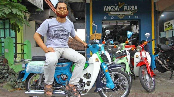 Si Klasik Jadi Motor Listrik, Bergaya Retro di Jalanan Ala 'Angsa Purba' Malang