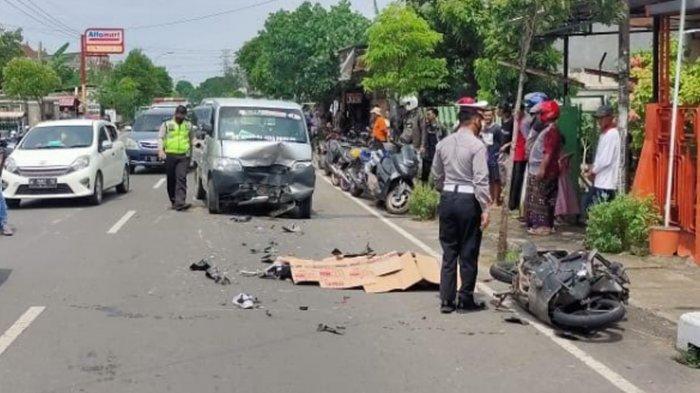 Kecelakaan Maut Honda Vario Vs Daihatsu Grand Max di Merakurak Tuban, Gagal Nyalip Nyawa Melayang