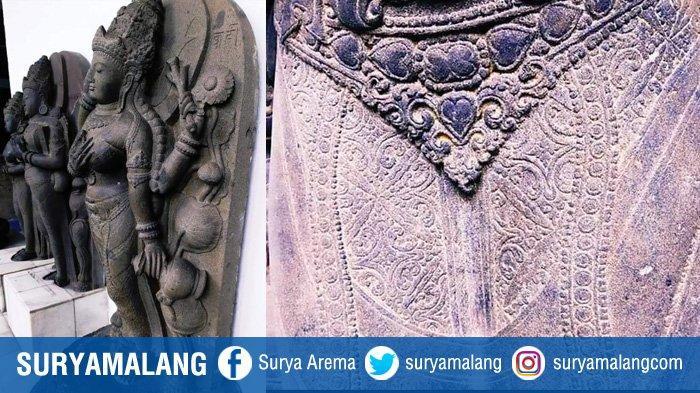 Ingin Mendesain Batik Khas Malang? Simaklah Motif Batik pada Seni Arca Singhasari