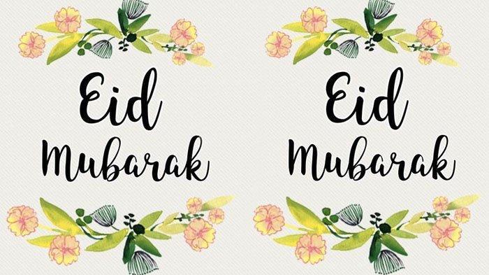Kumpulan Wallpaper dan Pantun Bertema Idul Fitri, Cocok Untuk Foto Profil & Kartu Ucapan di WhatsApp