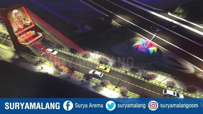Pembangunan Jembatan Ikonik Joyoboyo Surabaya Dikebut, Target Tuntas Desember 2020