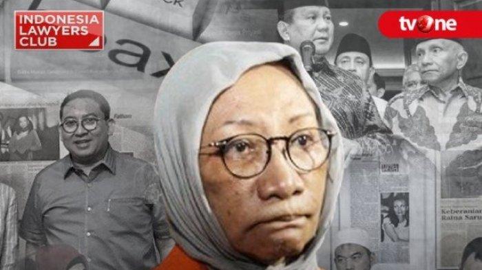 Link Live Streaming ILC Malam ini 'Di Balik Drama Hoax Ratna Sarumpaet, Mulai Pukul 20.00 WIB