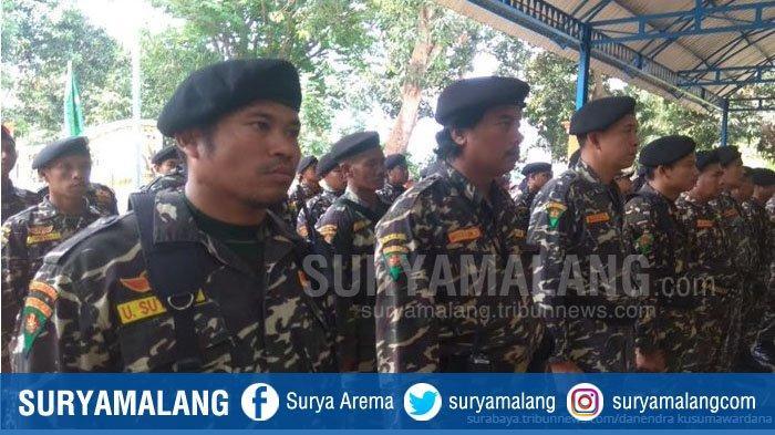 Banser Kabupaten Malang Siap Beri Pengamanan Ibadah Natal di Gereja