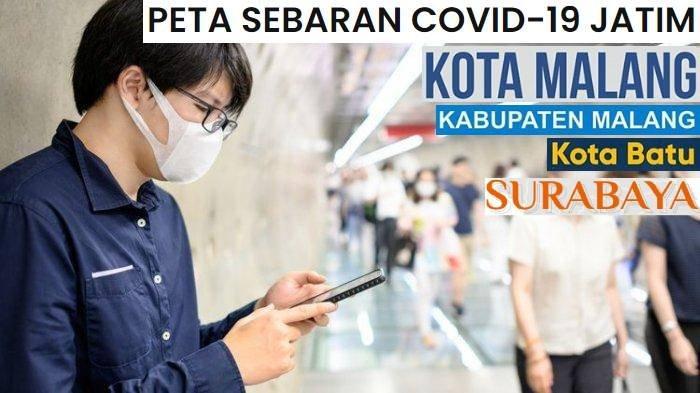 UPDATE Virus Corona di Malang Batu Surabaya Jatim Sabtu 8 Agustus 2020: Kota Batu 186 Surabaya 9393