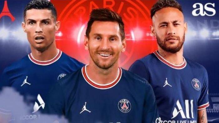 Selangkah Lagi Cristiano Ronaldo Akan Menyusul Messi dan Neymar ke PSG, Mbappe Akan ke Real Madrid
