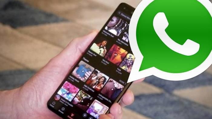 Ilustrasi galeri foto WhatsApp dan cara memulihkan file
