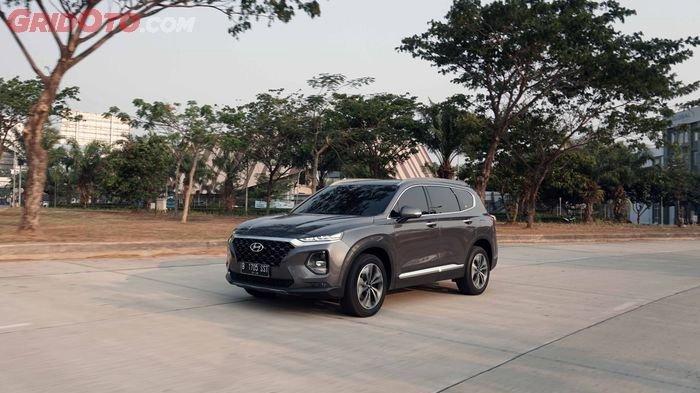 Ilustrasi Hyundai Santa Fe new