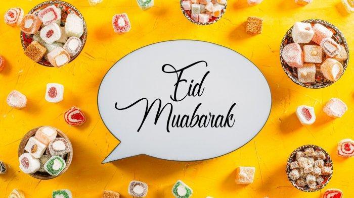 Ilustrasi Idul Fitri: ucapan selamat lebaran dan hari raya Idul Fitri  2021