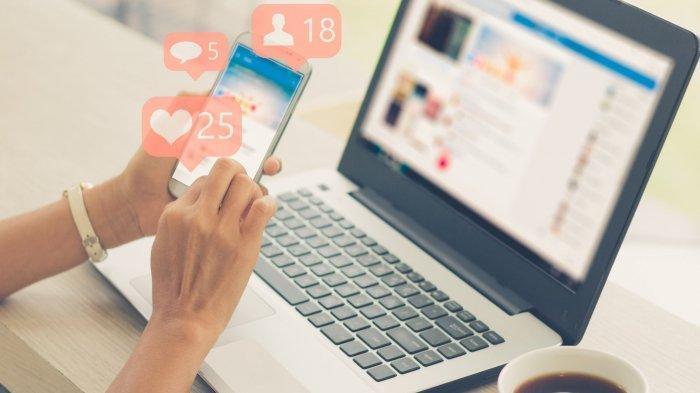 ILUSTRASI - Istilah bahasa gaul yang populer di social media