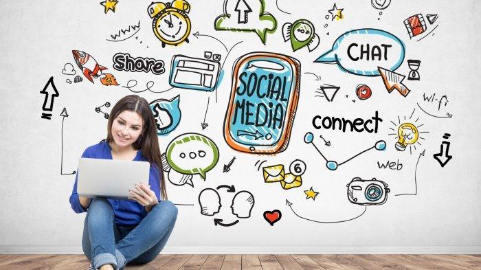 ILUSTRASI - Istilah gaul yang populer di social media