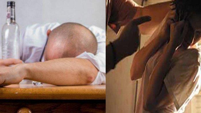 Hidung KT Berdarah Digampar Suami yang Mabuk Berat Ketika Tidur Nyenyak, Curiga Istri Main Serong