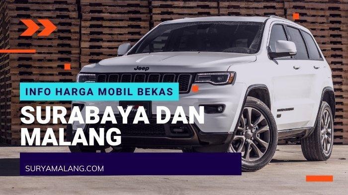 Daftar Harga Mobil Bekas Surabaya & Malang Bulan September: Brio, Clasy 92, Xenia Mulai Rp 20 Jutaan