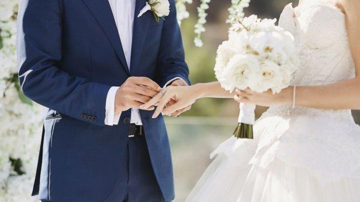 Ilustrasi Pernikahan dalam artikel, baru sehari menikah suami dicerai istri