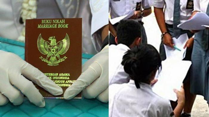 Bosan Belajar di Rumah Akibat Covid-19, 7 Siswi SMP & SMA Lombok Pilih Nikah, Jadi Sorotan Kemenag